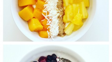 Greek Yogurt Bowls 3 Ways