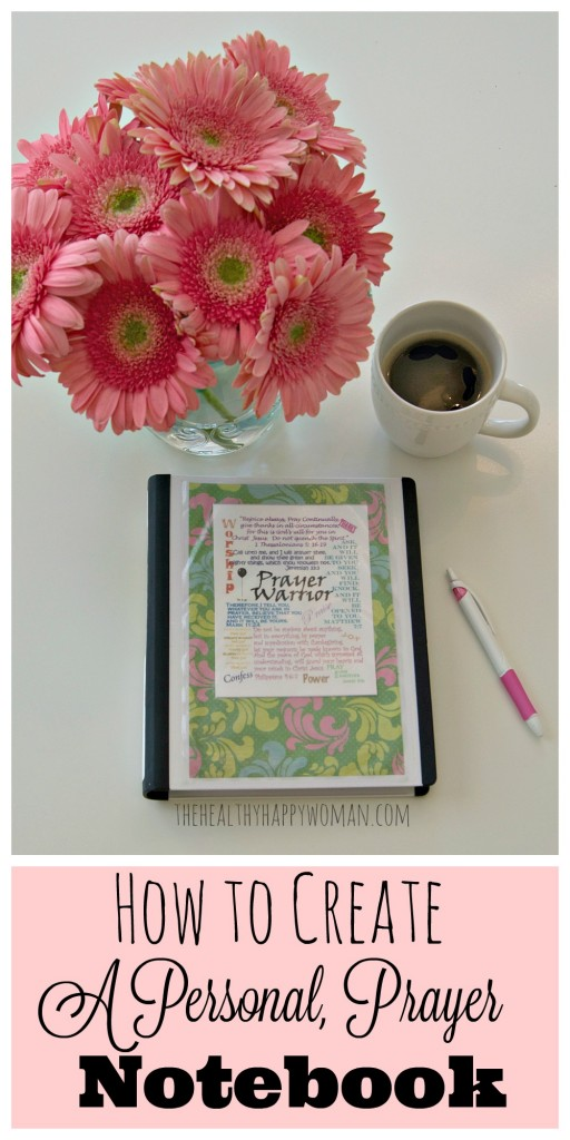 Prayer Notebook Pinterest