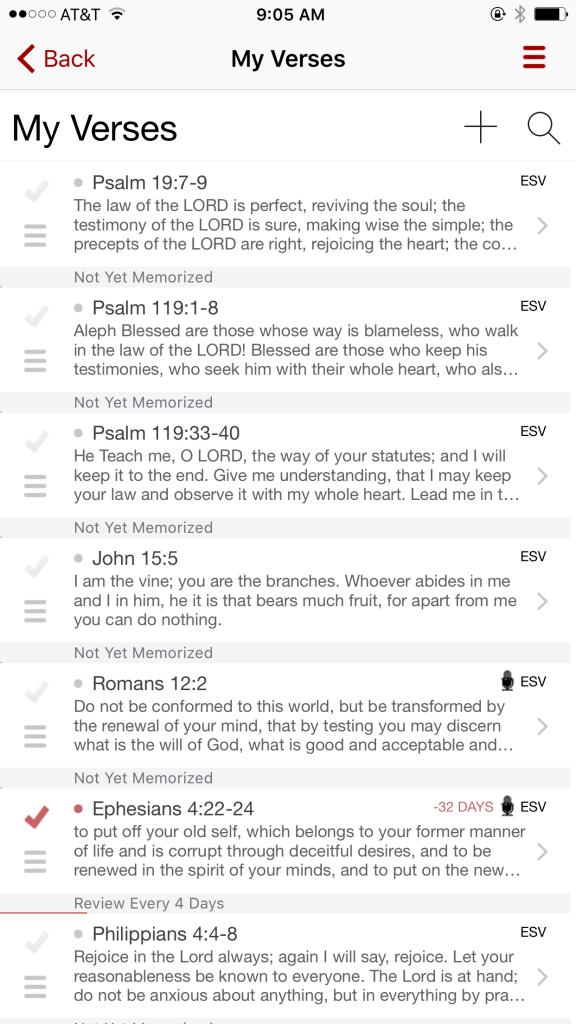 Scripture Memory App 1