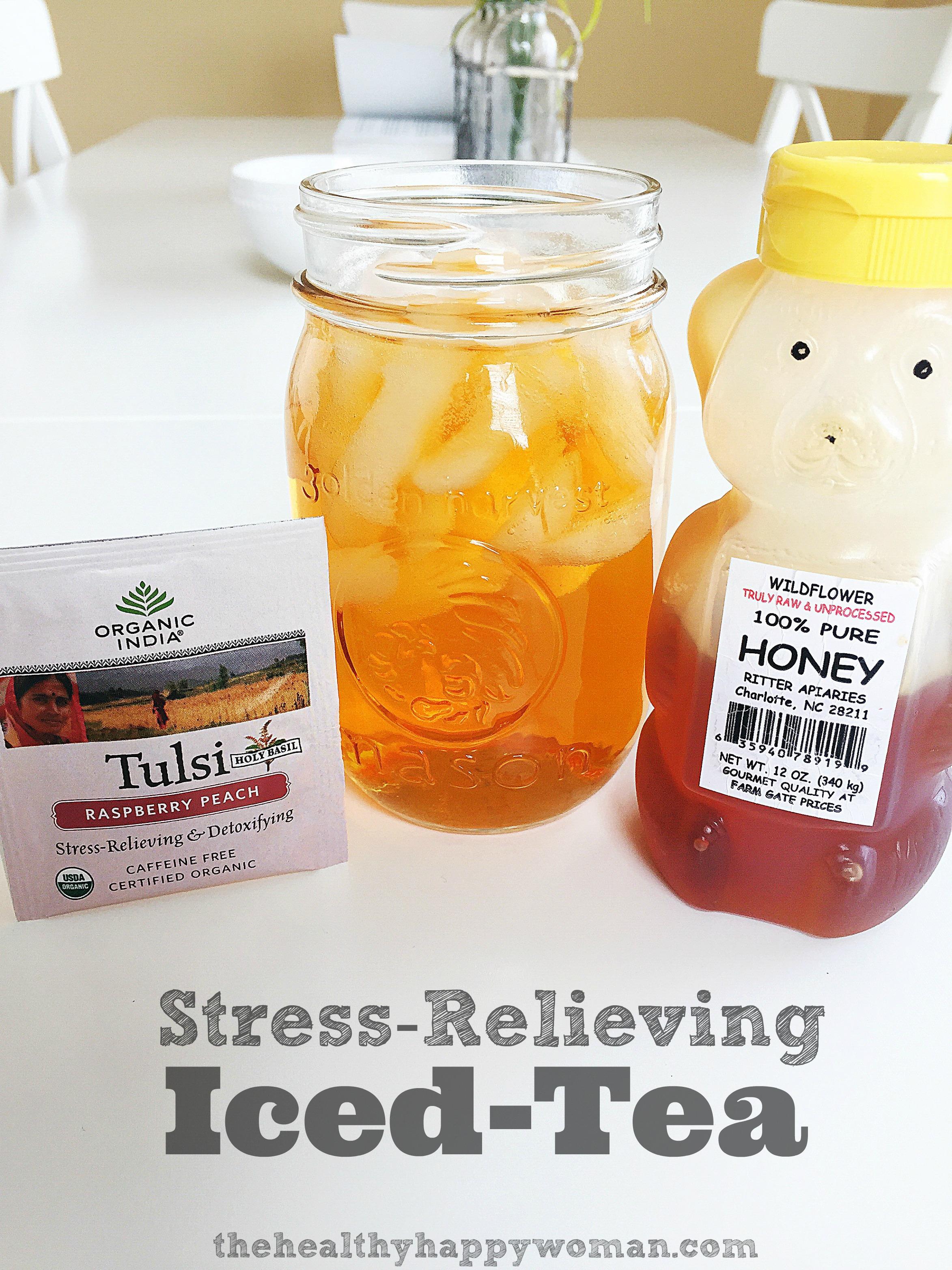 how to make healthy iced tea