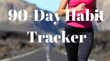90-Day Habit Tracker